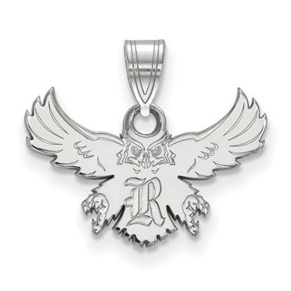 Picture of Rice University Owls 10k White Gold Small Pendant