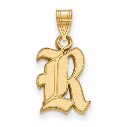 Picture of Rice University Owls Sterling Silver Gold Plated Small Pendant