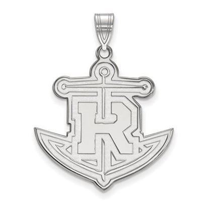 Picture of Rollins College Tars 10k White Gold Extra Large Pendant
