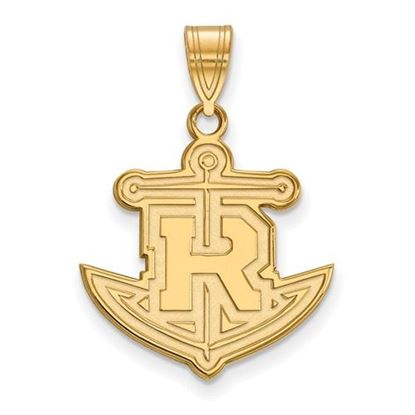 Picture of Rollins College Tars 14k Yellow Gold Large Pendant