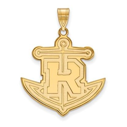 Picture of Rollins College Tars Sterling Silver Gold Plated Extra Large Pendant