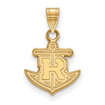 Picture of Rollins College Tars Sterling Silver Gold Plated Small Pendant