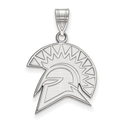 Picture of San Jose State University Spartans 10k White Gold Large Pendant