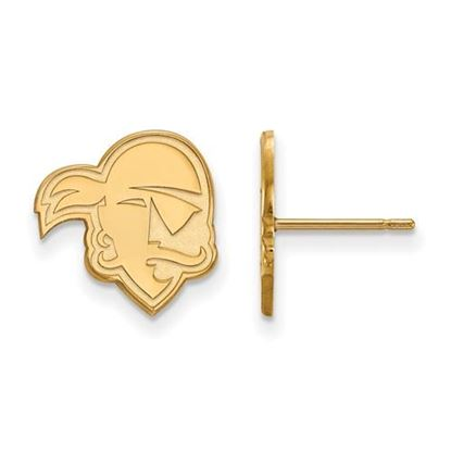 Picture of Seton Hall University Pirates 10k Yellow Gold Small Post Earrings