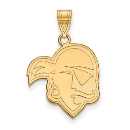 Picture of Seton Hall University Pirates Sterling Silver Gold Plated Large Pendant