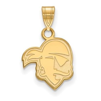 Picture of Seton Hall University Pirates Sterling Silver Gold Plated Small Pendant