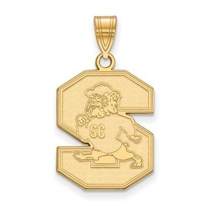 Picture of South Carolina State University Bulldogs 10k Yellow Gold Large Pendant