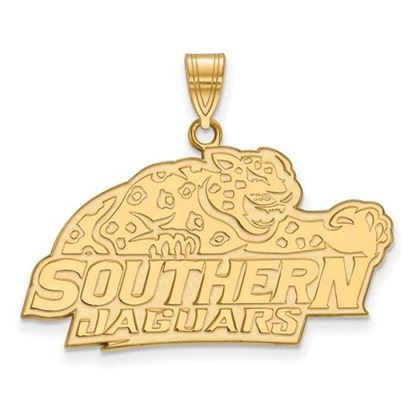 Picture of Southern University Jaguars 10k Yellow Gold Large Pendant