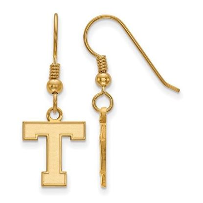Picture of Tarleton State University Texans Sterling Silver Gold Plated Small Dangle Earrings