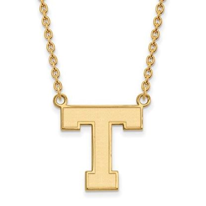 Picture of Tarleton State University Texans Sterling Silver Gold Plated Large Necklace