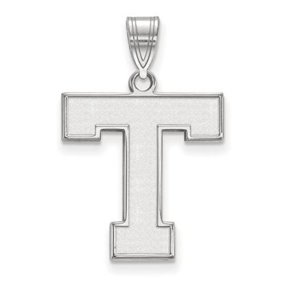 Picture of Tarleton State University Texans 10k White Gold Large Pendant
