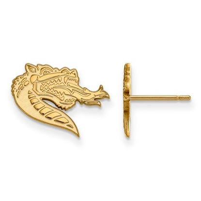 Picture of University of Alabama at Birmingham Blazers 14k Yellow Gold Small Post Earrings
