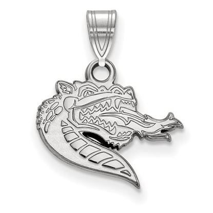 Picture of University of Alabama at Birmingham Blazers 10k White Gold Small Pendant