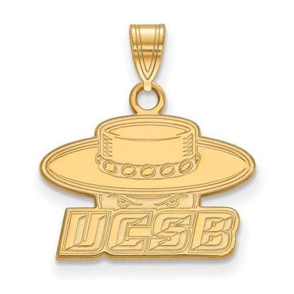 Picture of University of California Santa Barbara Gauchos 14k Yellow Gold Small Pendant