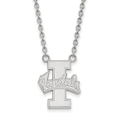 Picture of University of Idaho Vandals 10k White Gold Large Necklace