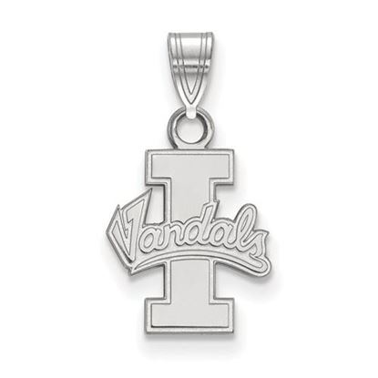 Picture of University of Idaho Vandals 10k White Gold Small Pendant