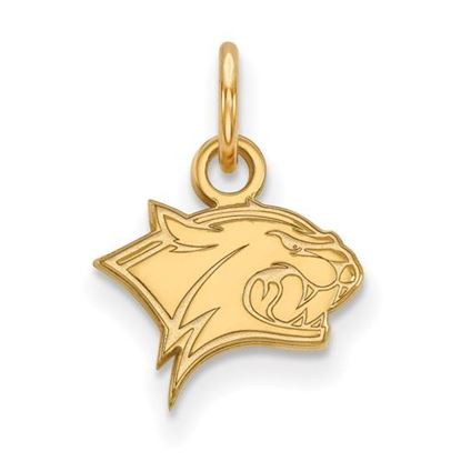 Picture of University of New Hampshire Wildcats 10k Yellow Gold Extra Small Pendant