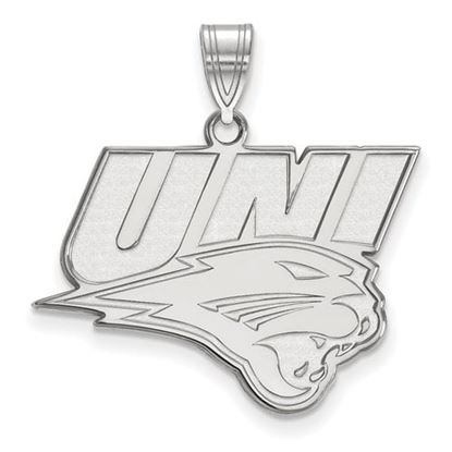 Picture of University of Northern Iowa Panthers 10k White Gold Large Pendant
