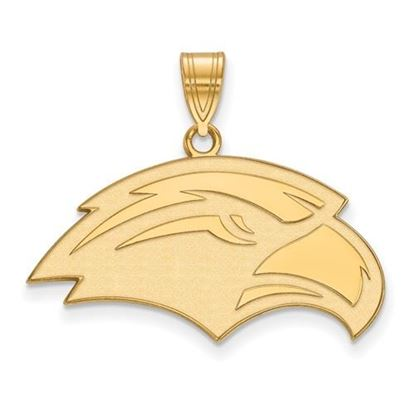 Picture of University of Southern Mississippi Golden Eagles 10k Yellow Gold Medium Pendant