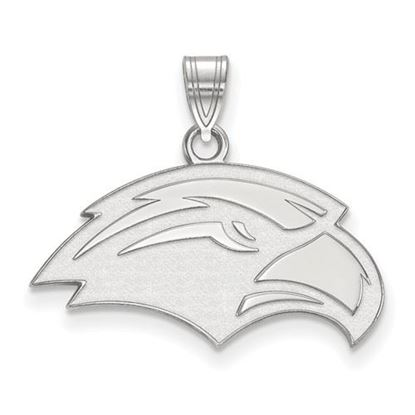 Picture of University of Southern Mississippi Golden Eagles 14k White Gold Small Pendant
