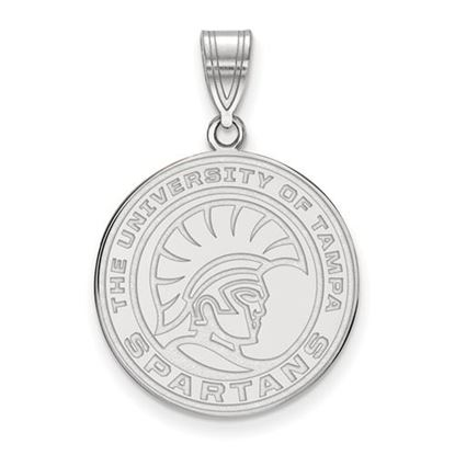 Picture of University of Tampa Spartans 14k White Gold Medium Pendant