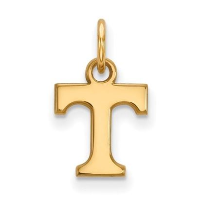 Picture of University of Tennessee Volunteers Sterling Silver Gold Plated Extra Small Pendant