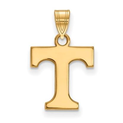 Picture of University of Tennessee Volunteers Sterling Silver Gold Plated Small Pendant