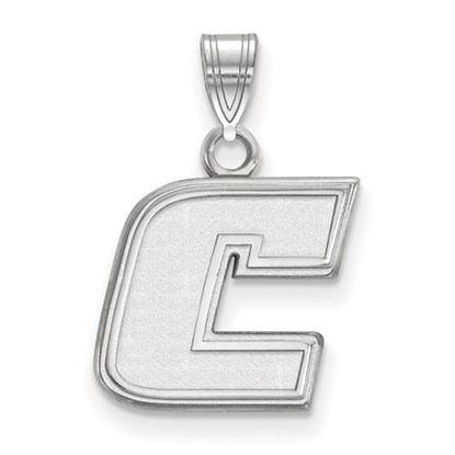Picture of University of Tennessee at Chattanooga Mocs 10k White Gold Small Pendant