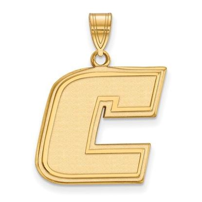 Picture of University of Tennessee at Chattanooga Mocs 10k Yellow Gold Large Pendant