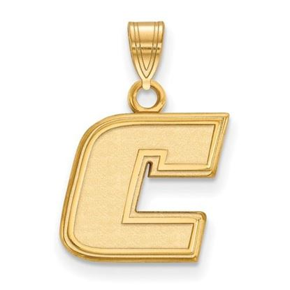 Picture of University of Tennessee at Chattanooga Mocs 10k Yellow Gold Small Pendant