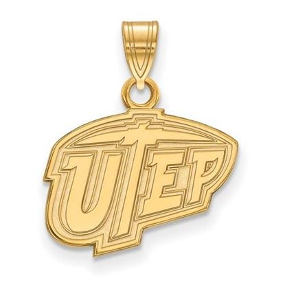 Picture of University of Texas at El Paso Miners 14k Yellow Gold Small Pendant