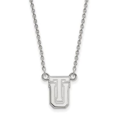 Picture of University of Tulsa Golden Hurricanes 10k White Gold Small Necklace