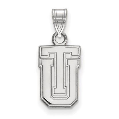 Picture of University of Tulsa Golden Hurricanes 14k White Gold Small Pendant