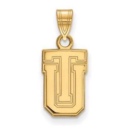 Picture of University of Tulsa Golden Hurricanes Sterling Silver Gold Plated Small Pendant