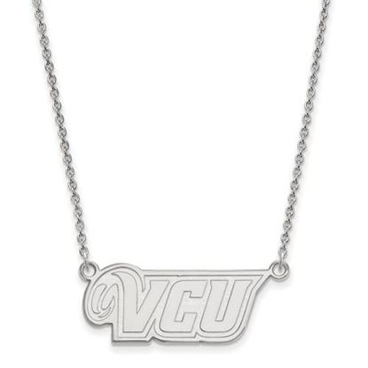 Picture of Virginia Commonwealth University Rams 10k White Gold Small Necklace