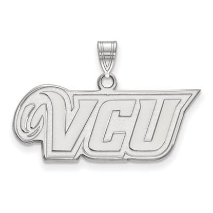 Picture of Virginia Commonwealth University Rams 14k White Gold Small Pendant