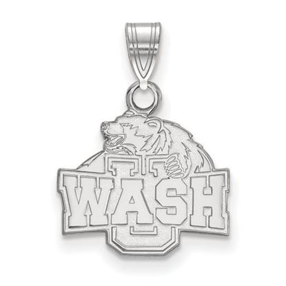 Picture of Washington University St. Louis Bears Bears 10k White Gold Small Pendant