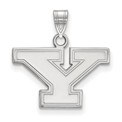 Picture of Youngstown State University Penguins 10k White Gold Small Pendant