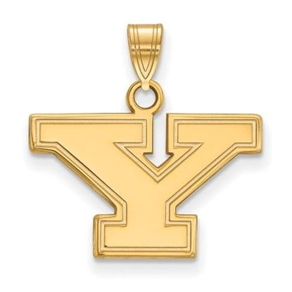 Picture of Youngstown State University Penguins 10k Yellow Gold Small Pendant