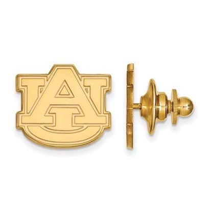 Picture of Auburn University Tigers Sterling Silver Gold Plated Lapel Pin