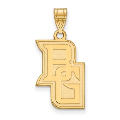 Picture of Bowling Green State University Falcons Sterling Silver Gold Plated Large Pendant