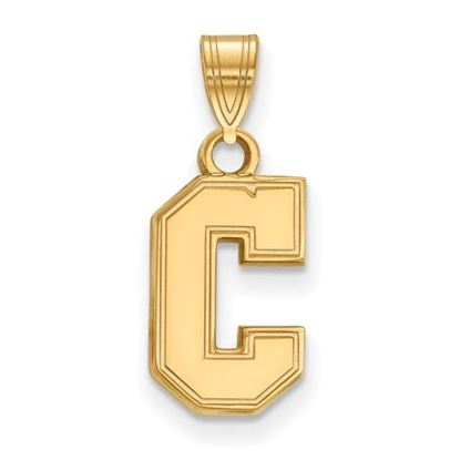 Picture of College of Charleston Cougars Sterling Silver Gold Plated Small Pendant