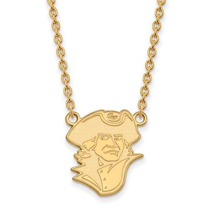 Picture of The George Washington University Colonials Sterling Silver Gold Plated Large Necklace