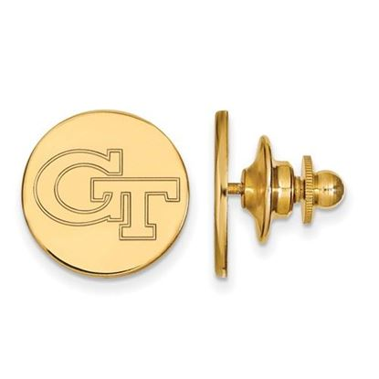 Picture of Georgia Tech Yellow Jackets Sterling Silver Gold Plated Lapel Pin