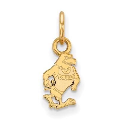Picture of Georgia Southern University Eagles Sterling Silver Gold Plated Extra Small Pendant