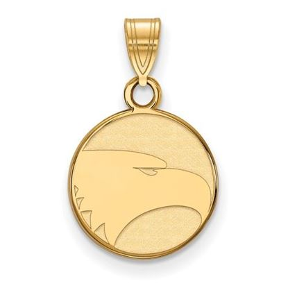 Picture of Georgia Southern University Eagles Sterling Silver Gold Plated Small Pendant