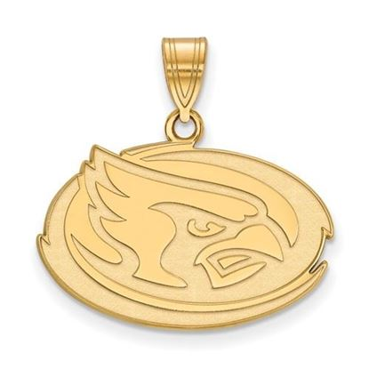 Picture of Iowa State University Cyclones Sterling Silver Gold Plated Medium Pendant