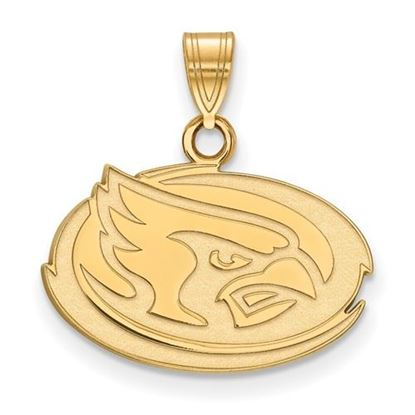 Picture of Iowa State University Cyclones Sterling Silver Gold Plated Small Pendant