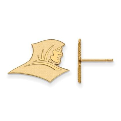 Picture of Providence College Friars Sterling Silver Gold Plated Small Post Earrings