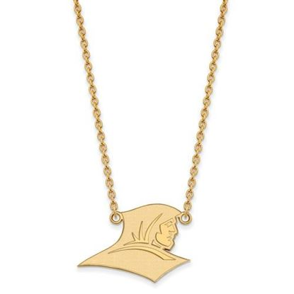 Picture of Providence College Friars Sterling Silver Gold Plated Large Necklace